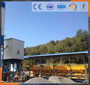 75m3/H Mobile Concrete Mixing/Batching Plant Price pictures & photos
