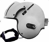Active Noise-Reduction Radio Communication Helmet