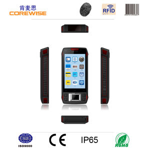 Android Touch Handheld Mobile Phone with with Fingerprint Reader and RFID Hf 13.56MHz pictures & photos