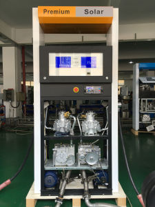 Double Nozzle Tatsuno Type Fuel Dispenser for Gas Station pictures & photos
