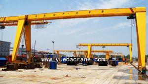 3 Ton to 32 Ton Electric Hoist Single Beam Gantry Crane (Box Frame Single Girder Gantry Crane)