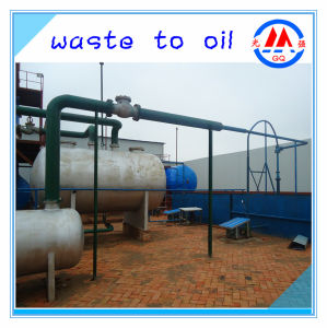 85-95% High Yield Oil Rate Green Technology Recycling Distillation Plant
