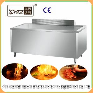 Temperature Resistant Standing Stainless Steel Electric Induction Teppanyaki pictures & photos