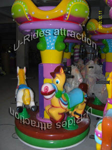 Purple Little Camel Kiddies Carousel pictures & photos