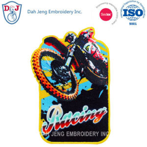 Sublimation + Embroidery Patches - Sports Patch pictures & photos