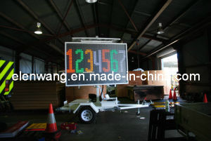 Vms Trailer LED Sign Trailer 4color (GW-VM400C) pictures & photos