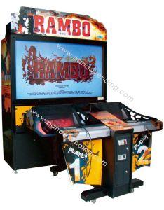 Gun Shooting Game Machine (GM-G03, RAMBO) pictures & photos