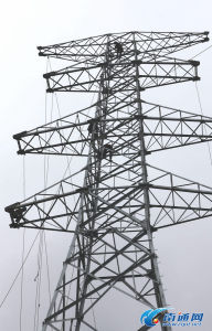 Power Plant / Angle Steel Tower / Transmission Tower / Mild Steel / Galvanized Steel (0023)