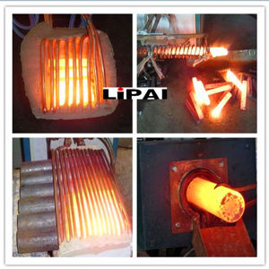 Ultrasonic Frequency 200kw Electromagnetic Induction Heating Hot Forging Machine pictures & photos