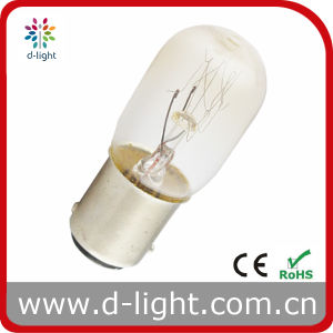 T20 Ba15D Clear Incandescent Indicator Bulb pictures & photos