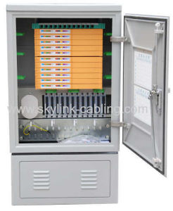 144 cores fiber optic cross cabinet pictures & photos