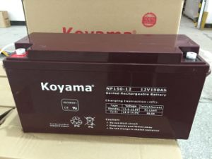 Good Quality 12V 150ah UPS Battery VRLA AGM Storage Battery pictures & photos