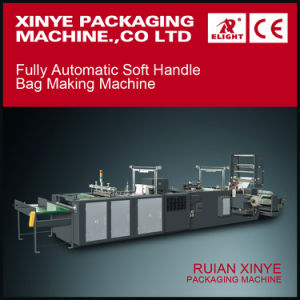 Ruian Xinye Fully Automatic Loop Handle Bag Making Machine pictures & photos
