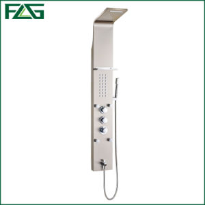 Flg Sliver Brushed Nickle  Bathroom Waterfall Shower Panel pictures & photos