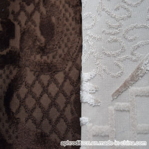 Wholesale Wowen Polyester Nylon Upholstery Decorate Velour Fabric for Sofa pictures & photos