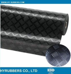 Circle/ Checker/ Ribbed Anti-Slip Rubber Sheet Flooring pictures & photos
