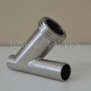 Sanitary Stainless Steel Welded Y-Type Strainer pictures & photos