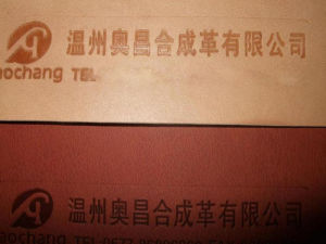 Thermo PU Label Leather