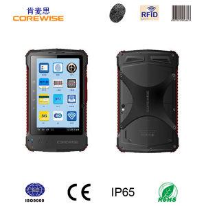 Andorid Handheld UHF RFID Reader with Fingerprint Reader Barcode Scanner pictures & photos