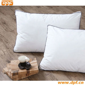 High Quality Duck Down Pillow with Double Piping Stitching (DPF060406) pictures & photos
