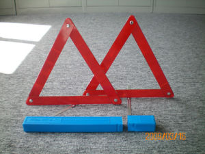 Cheapest Price Emergency Warning Triangle with Plastic Box (WT-07-A)