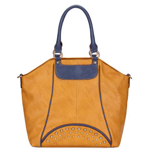 China Guangzhou Supplier Fashion Leather Lady Bags (MBLX033057) pictures & photos