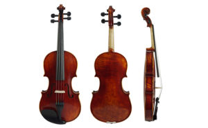 Sinomusik Handmade Antique Craved Advanced Violin pictures & photos