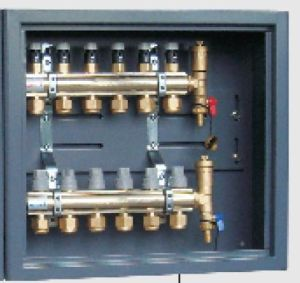 Water Heating Brass Manifold (HF218P-3) pictures & photos