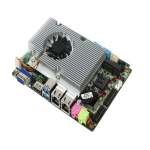 Thin Client PC Motherboard with SIM Card Slot, 2*LAN pictures & photos