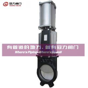 Bi-Directional Water Treatment Pulp Knife Gate Valve pictures & photos