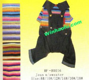 Pet Clothes (HF-B0016)