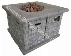 Firepit Table/ Gas Firepit Table/ Outdoor Fireplace (ART-6146)