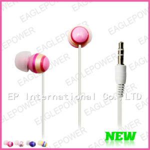 Colorful MP3/MP4 Earphone in Ear Headphones With Nice Stereo