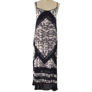 Ladies Fashion Beach Dress in Digital Printed