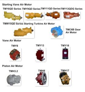 Pneumatic Air Motor/ Tmh8 Piston Air Motor for Atalas′ Cm351 Crawler Drill pictures & photos