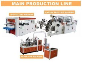 Automatic Paper Die Cutting Machine for Color Boxes pictures & photos