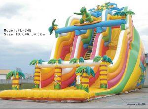 Inflatable Slides Bouncer