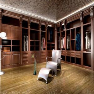 Luxurious Antique Style Oak Wood Walk in Closet pictures & photos