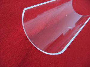 Half Round Clear Quartz Glass Plate pictures & photos