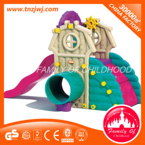 Children Small Cute Plastic Toys in Guangzhou Kids Slide Toys pictures & photos
