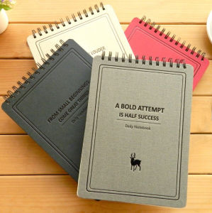 Perfect Debossed Logo Daily Notebooks pictures & photos