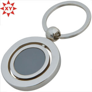 Factory Supply Rotation Metal Keychain Keyring pictures & photos