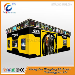 Wangdong 5D 7D 9d Theater Truck Cinema for Sale pictures & photos