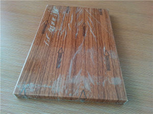 Custom Wood Look Aluminum Honeycomb Panels for Decoration pictures & photos