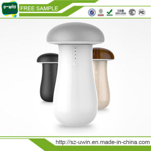 Mushroom LED Light 6600mAh Power Bank pictures & photos