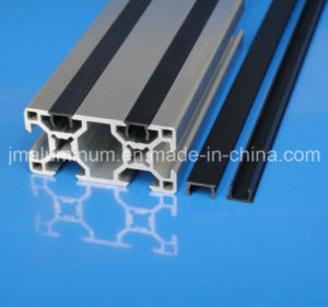 Slot 6mm PVC Material Flat Cover Profile Strips in The Profile Groove Fastening Panel pictures & photos
