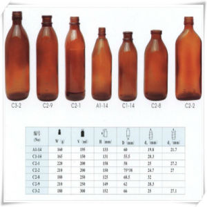 Glass Bottle for Chemical