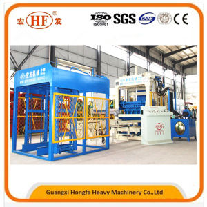 Hydraulic with Vibration Automatic Concrete Paving Wall Block Making Machine pictures & photos