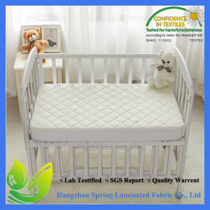 Quilted Portable Size Crib Mattress Pads Waterproof pictures & photos