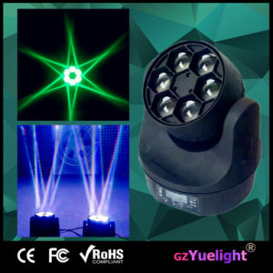 2015 Bee Eye 6PCS RGBW 4in1 LED Stage Moving Head Light pictures & photos